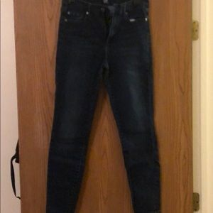 GAP high waisted legging  jeans size 27